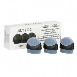JUSTFOG - CARTOUCHES C601 (x3)