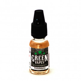 GREEN VAPES - PHILADELPHIA - 10ml