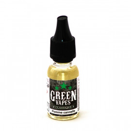 GREEN VAPES - POMME CANNELLE - 10ml